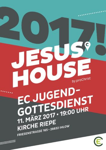 Jugendgottesdienst  JesusHouse