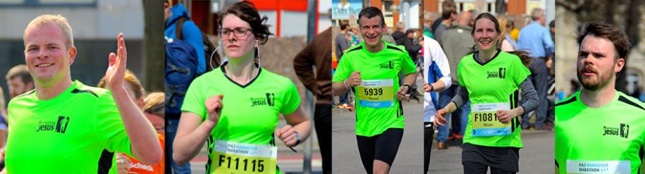 Running for Jesus