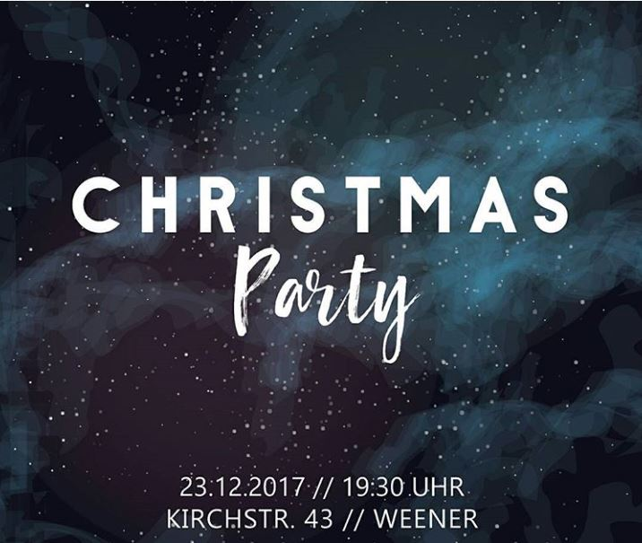Christmas Party am 23. Dezember