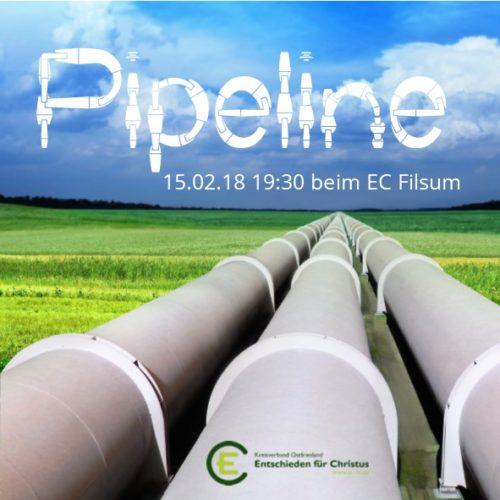 Pipeline am 15. Februar in Filsum