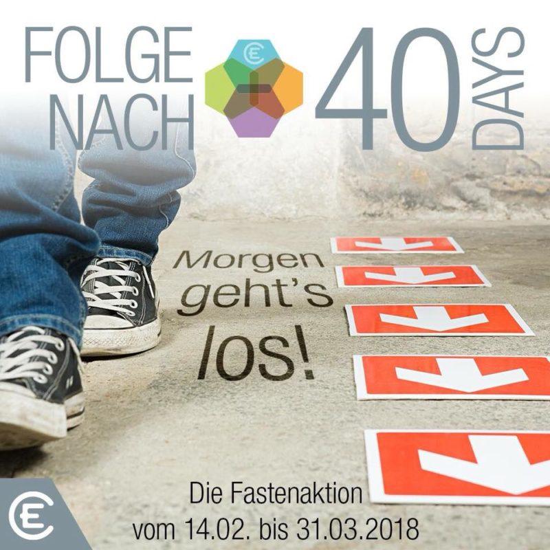 40DAYS - Fastenaktion