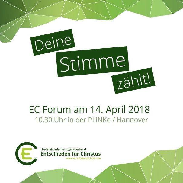 EC Forum in Hannover