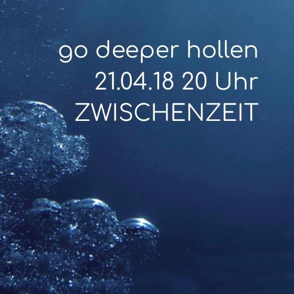 go deeper