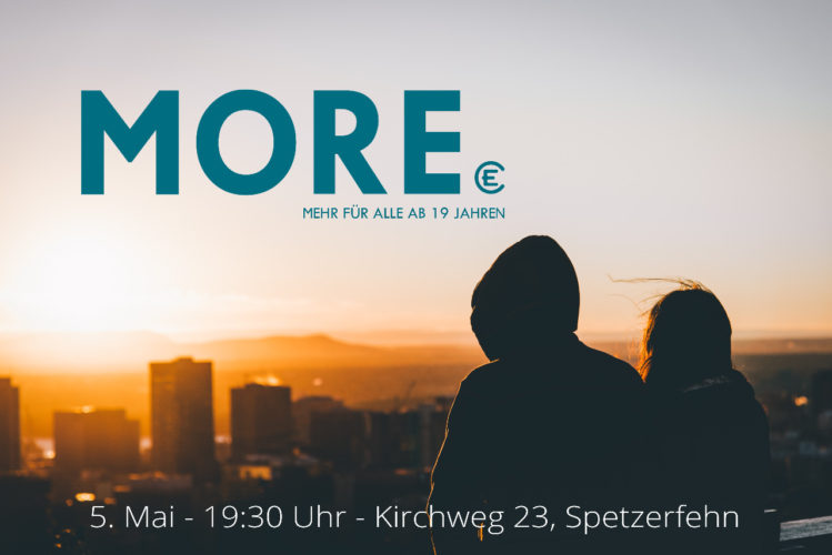 MORE – Mehr für alle ab 19 Jahren