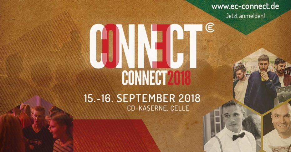 Connect – jetzt anmelden!