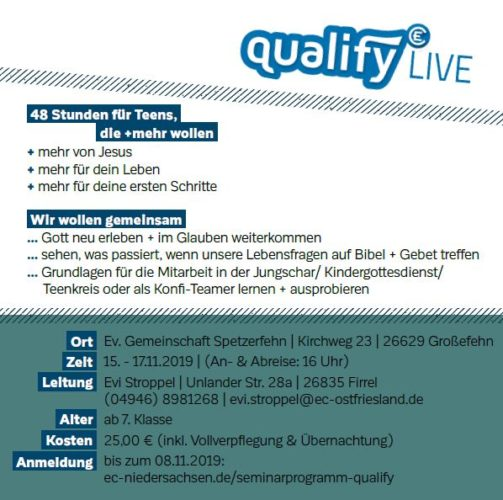 qualify LIVE